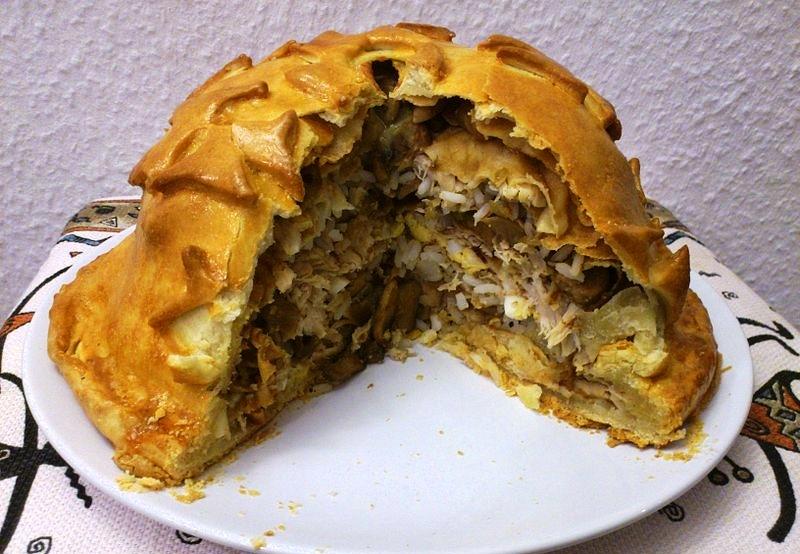 Курник с гречкой классический рецепт пошаговый с фото