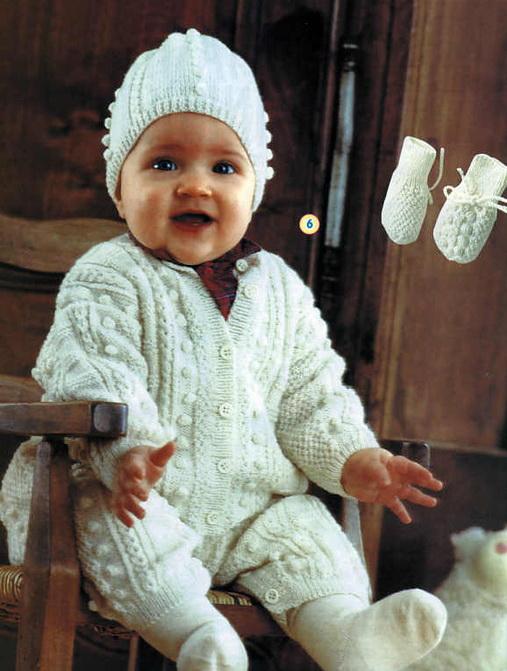 Вязание спицами для детей,