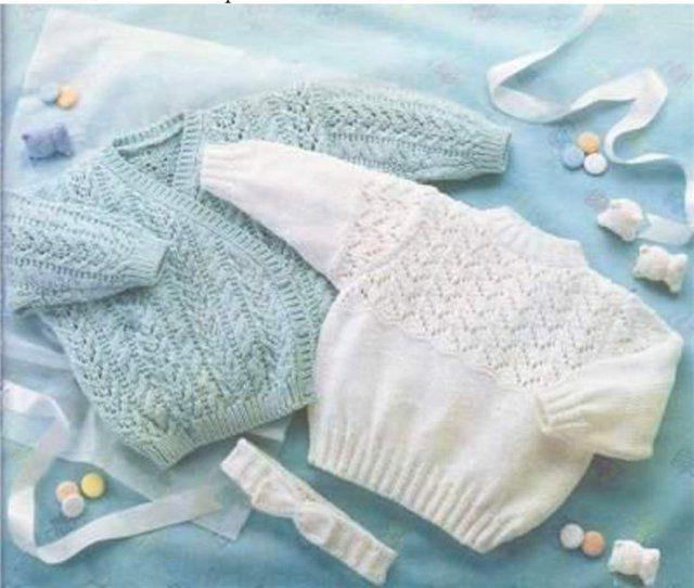 Вязание спицами детям до года жилетка