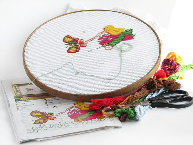 Иголки и нитки для вышивке крестом 292