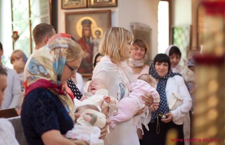 Крещение ребенка что нужно