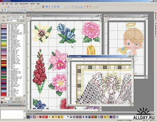 Программа для вышивки крестом pattern maker